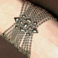 Mesh Butterfly Cuff