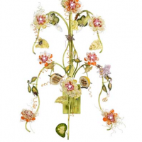 Passion Flower Sconce