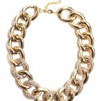 Pavé Link Necklace
