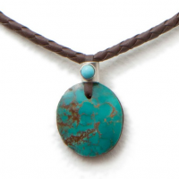 Skybird Turquoise Necklace, detail