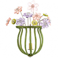 Small Bouquet Sconce