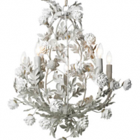 Snowcovered Chandelier