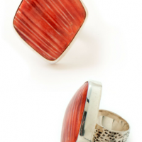 Striped Oyster Ring