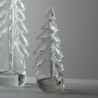 Art Glass Holiday Tree Decoration