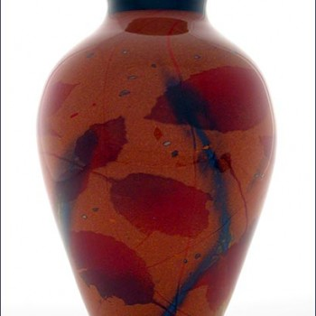Autumn Leaf Vase