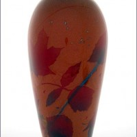 Autumn Leaves Vase