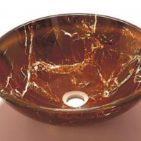 Blown Glass Sink Basin