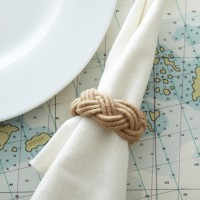 Braided Rope Napkin Ring