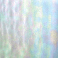 Clear Iridescent Art Glass