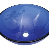 Cobalt Blue Sink Basin