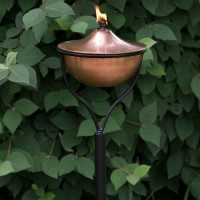 Copper Garden Torch