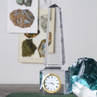 Crystal Obelisk Clock