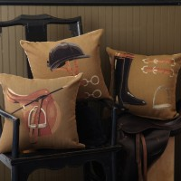 Equestrian Pillow Set