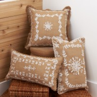 Floral Embroidery Pillows
