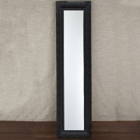 Full Length Leather Studded Mirror