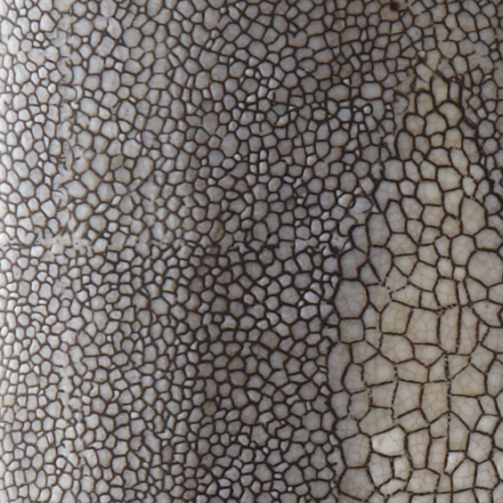 Gray Shagreen Lamp, detail
