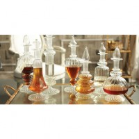 Hand-Blown Glass Decanters