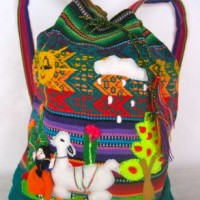 Llama Wool Backpack