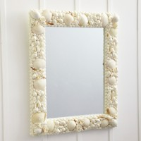 Neptune Sea Shell Mirror
