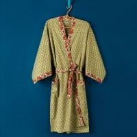 Patterned Bath Robe