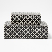 Patterned Decorative Boxes