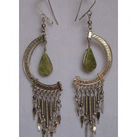 Peruvian Crescent Earrings