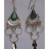 Peruvian Stone Earrings