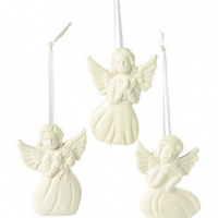 Porcelain Angel Ornaments