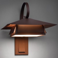 Rustic Copper Sconce