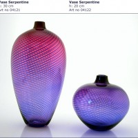 Serpentine Vases