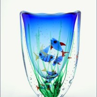Whale's Mouth Fish Vase