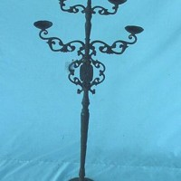 3 Tier Cast Iron Candle Stand