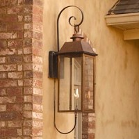 50 inches Copper Gas Lantern