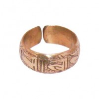 Adjustable Copper Ring, Nepal