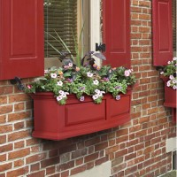 Amsterdam Window Box, red