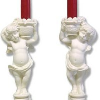 Angels Candleholders Set