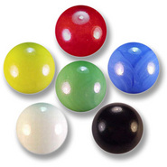 Assorted 14mm Round Marbles