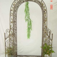 Beautiful Ironwork Trellis