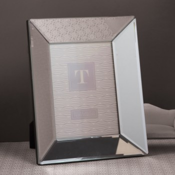 Beveled Mirror Photo Frame, 5x7