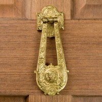 Blithedale Door Knocker, brass