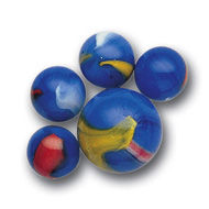 Blue Dolphin Marbles