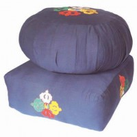 Blue Meditation Cushions