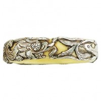 Brass Dragon Bracelet, Nepal