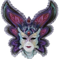 Butterfly Mask Wall Plaque