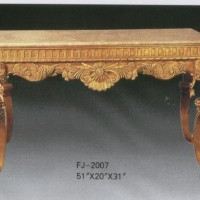 Carved Gilt Table