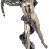 Cast Bronze Cupid Candleholder