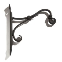Cast Iron Wall Bracket, black