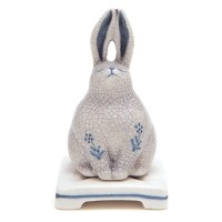 Ceramic Bunny Incense Holder