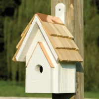 Classic Bird House, green