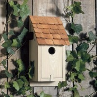 Classic Bluebird Wall Mount Bird House